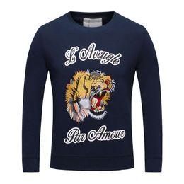 Wholesale Wild Hips - Pullover Space Cotton Sweatshirt For Mens Wild Brief Men Casual Crew Neck Men Hip Hop Long Sleeve Sweatshirts