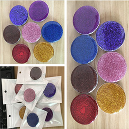Wholesale Wholesale Glitter Glue - New Fashion Glitter plate Universal Cell Phone Holders 3M Glue support Ipad Stands Latest Grip for iphone 8 X Tablets with opp package DHL