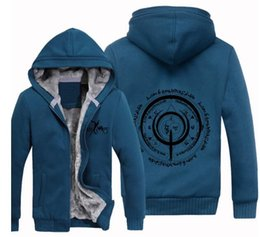 Wholesale Saber Fate Zero - New fate zero stay night sweater archers saber summon array autumn and winter plus velvet thic