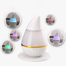 Wholesale Aroma Therapy - Wholesale- 2016 Lowest Price USB LED Air Humidifier Incense Burners Essential Oil Ultrasonic Aroma therapy Diffuser