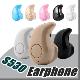 2e6a56fd845 bluetooth headphones for small ears Promo Codes - For Iphone 7 S530 Mini  Wireless Small Bluetooth