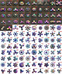 Wholesale Fish Kid - 120 type colorful Double bearing hammer American Fidget spinners Flying Fish Eagle Eye Magic Dragon Wings Zinc Alloy Hand Spinner Finger