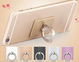 Wholesale Lazy Phone - Metal Lazy Stent Lazy Ring Buckle Mobile Phone Bracket Custom-made Tablet PC Mobile Phone Ring Bracket