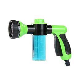 Wholesale Car Washing Foam Gun - Foam Water Gun Car Washer Water Gun High Pressure Car Wash Home Foam Green