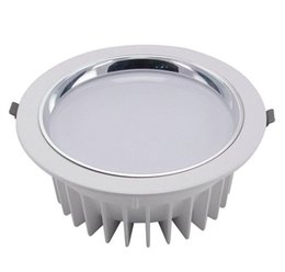 Wholesale Led Bathroom Light Bulbs - SMD COB 10W 20W 30W non-dimmable Led Downlight Recessed ceiling lights 120 Degree Beam Angle bulb AC85V-265V Downlight LED CE RoHS