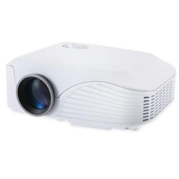 Canada Gros-H88 LED Projecteur 1000 Lumens Projecteur 1080P Machine de projection avec USB HDMI VGA AV Micro SD Slot Télécommande Mini Cool cheap av projection Offre