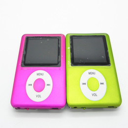 Wholesale Sport MP4 Player Languages FM Radio MP4 LCD Movie Music Player Ebook Record Colors Reproductor MP4 Earphones