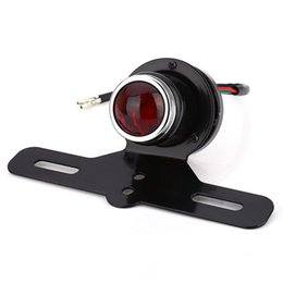Wholesale Led Stop Run Lights - Motorcycle Motorbike LED Tail Light Break Stop Lamp for Harley running Tail Light Super Bright with ABS Plastic Material