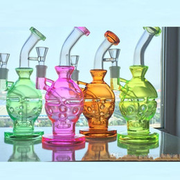 "Wholesale Faberge Eggs - 100% Quartz Glass Honey Bucket 12 holes in the 9"" inche Faberge Egg Water Pipes Oil Rigs Glass Pipe Bong in Stock"
