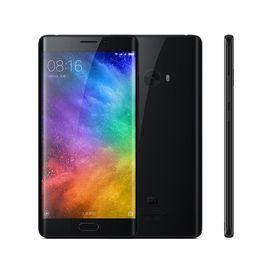 Wholesale Silver Usb 128gb - 6GB 128GB Xiaomi Mi Note 2 4G LTE Touch ID 64-Bit Quad Core Qualcomm Snapdragon 821 22MP Camera 5.7 inch Curved Screen 1080P FHD Smart Phone