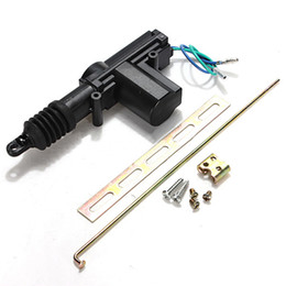 Wholesale Wholesale Car Remote Starter - Car Plastic Universal Heavy Duty Power Door Lock Actuator Motor 2 Wire 12V M00090