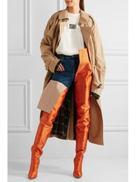 stivali alti stiletto Sconti LTTL Women High Stivaletti Punta a punta Stiletti Stivali a vita lunga Celebrity Nightclub Designer Boots Fashion Runway