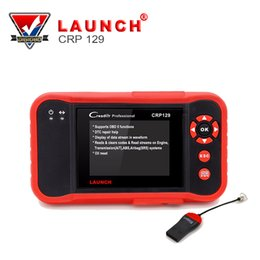 Wholesale Car Engine Support - 2017 Original Car Scanner Launch Creader CRP129 Update Online Support 4 System Engine,Transmission,ABS,Airbag Diagnostic Tool