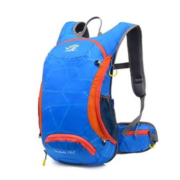 Wholesale Ultralight Hiking Backpack - 15L Waterproof Ultralight Bicycle Bike Shoulder Backpack Sport Outdoor Cycling Riding Travel Mountaineering Hydration 644