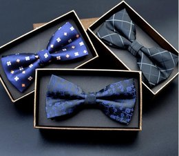 Wholesale Solid Color Ties Cheap - Cheap Bowtie Gentleman Men's Solid Color Mens Bow Ties Adjustable Dot Print Neck Bow Tie Fashion Accessories Free Shipping