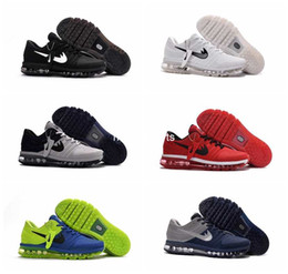 Wholesale Running Shoes Size 47 - 2017 New Arrival Mens Maxes Shoes Men Sneaker Maxes 2017 Mens Running Sport Shoes Maxes BENGAL Orange Grey KPU Size 47