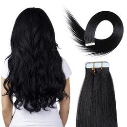 Wholesale Hair Extension Tape Wholesale Price - YSG Malaysian Human Virgin Tape In Hair Extension 100% Human hair Extension 22inch to 30inch Natural Color Wholesale Price