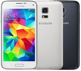 Wholesale Mini Smart Phone Quad Core - Refurbished Original Samsung Galaxy S5 Mini G800F 4G LTE 4.5 inch Quad Core 8.0MP Camera 1.5GB RAM 16GB ROM Smart Mobile Phone DHL 1pcs