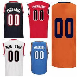 Wholesale Personalize Logo - HOT Personalized or Customized Men's basketball jerseys Custom any player name and number Jersey,Embroidery and Sewing logos Free Shipping