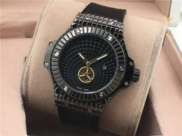 Wholesale Fishing Belt Buckle - Luxury Men Watches Casual Quartz Watches New pattern Fish scale lines Dial leather interlayer Silica gel Watch strap Fashion man Watches
