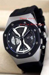Wholesale New Factory Design - factory new masterpiece high quality mans watches chronograph Swiss quartz movement Dynamic display design titanium 44 mm watchcase