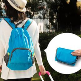 Wholesale Wholesale Nylon Backpack - Hot New High Quality 2016 Fashion Travel Backpacks Zipper Soild Nylon Portable Back Pack Women Men Shoulder Bags