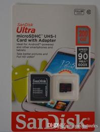 Wholesale 128 Gb Micros Sd - Free shipping Samsung evo memory card micro sd card 200GB 128 GB 128GB 64GB 32GB class 10 microsd TF Card for Cell phone mp3 micro sd C10