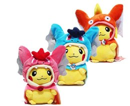 Wholesale Pokemon Charizard Plush - 23cm Poke Pikachu Cosplay X Charizard Magikarp Brinquedo Plush Toys Fashion Cartoon Plush Toys Movies & TV MOQ 5pcs Free Shipping