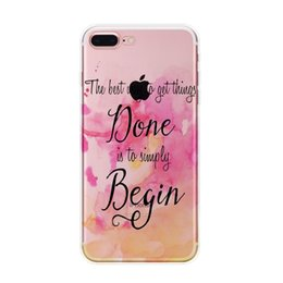 Wholesale I Phone Back Covers - I 7plus Colorful painted Marble Phone Case for IPhone I 7plus Soft Tpu Silicone Case Back Cover fundas