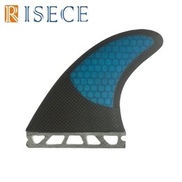 Wholesale Futures Surf - Free shipping carbon future surfboard fins honeycomb core surf fins fiberglass fin future G5 fins set