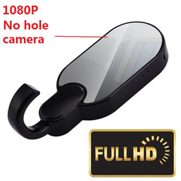 Wholesale Hole Spy Camera - 1080P HD WiFi Hidden Spy Camera Clothes Hook with Super Night Vision Home Security Convert Mirror Cover No Hole WiFi Spy Cam Y11