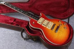 Wholesale Custom Ace - Custom Shop OEM Ace Frehley Signature Electric Guitar Mahogany Body Neck Closed Knob String Winder Chinese Guitar Factory Free Shippin