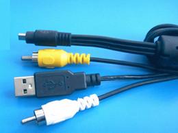Argentina Cables USB AV para Nikon UC-E6 Coolpix Usb Av Able para Nikon CoolPix 8800 / L1 / L2 / L3 / L4 / L5 / L6 Cable USB AV Suministro