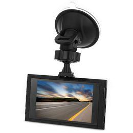 Wholesale A8 Cam - 1080P Full HD Ultra-Thin A8 Car DVR Recorder Car DV 170 Degree Wide Angle Dsah cam G-Sensor IR Night Vision Loop Cycle Recording Car DVR+B