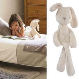 Wholesale Toys Price - Wholesale- 2016 Cute Rabbit Baby Soft Plush Toys Brinquedos Plush Rabbit Stuffed Toys White Cheapest Price Best Gift for Kids