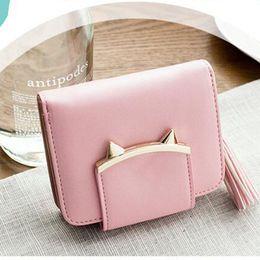 Wholesale Leather Slim Wallet Women - Women Change Purse 2017 Korean Fashion Small Women Purse Zipper Leather Slim Female Wallets Girls Mini Coin Purses Card Holder
