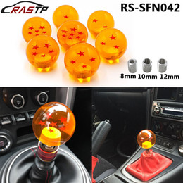 Wholesale Car Racing Gear Knobs - Universal High Quality Customized Car Styling Auto Racing Dragon Ball Gear Shift Knob Star For TOYOTA HONDA CIVIC Acura 3 Fittings
