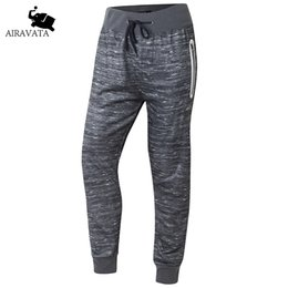 Wholesale Thick Sweatpants - Wholesale- US Size 2016 New Arrival Fashion Male Streetwear tracksuit Pants Winter Men Pants Casual Thick Sweatpants Warm Fleece Trousers