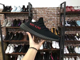 Wholesale Digital Printing Cotton Fabric - Top Version Sply 350 V2 Black Red Digital kanye west shoes Boost Season 3 running shoes SPLY 350 shoes Sneakers