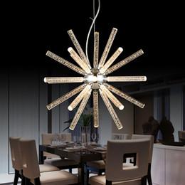 Wholesale Free Shopping Malls - Modern Led Hanging Pendant Lights For Shop Bar Dining Kitchen Room AC85-265V Acrylic Led Pendant Lamp Free Shipping