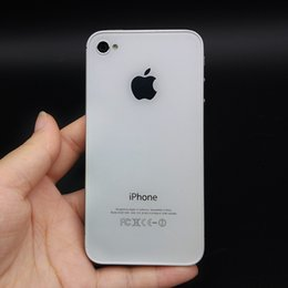Wholesale 3g Wcdma Mobile Phones - Original Apple iPhone 4S IOS 8GB 16GB 32GB ROM 3.5inch IPS Dual Core 8MP WIFI 3G WCDMA Refurbished Unlocked Mobile Phone