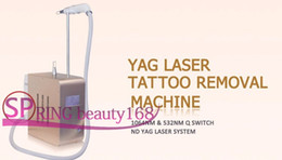 Wholesale Pigmentation Removal Laser - 2017 Newest Portable PicoSure Laser 1064nm nd yag Q switch Laser tattoo removal Pigmentation Removal Machine