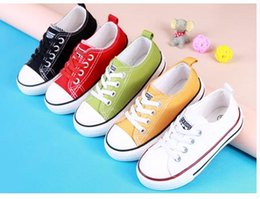 Wholesale Toddler Pink Canvas Shoes - Children's Shoes Boys Girls Shoes Spring Autumn New Stars Children Kids Casual Canvas Toddler Shoes European shoe size: 20 -30