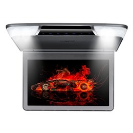 "2019 auto armaturenbrett tvs 11.6 ""1080P hohe Auflösung Auto Dach Mount Monitor Flip unten über Kopf Auto Decke Drop Down LCD Display 12 V HDMI Monitor"