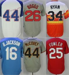Wholesale Atlanta Baseball Jersey - atlanta #44 hank aaron boston #26 wade boggs white grey blue red 2017 Baseball Jersey 100% Stitched