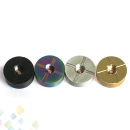 heatsink atomizer Coupons - 510 Atomizer Adapter Heat Sink 2 Adaptor Heatsink 510 Thread Bottom attached Fit RDA RBA Mods E Cigarette DHL Free