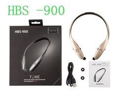 Wholesale Headphone Logo - For HBS 900 Bluetooth Headphone Earphone For HBS900 Sports Stereo Bluetooth Wireless HBS-900 Headset Headphones For LG No logo Not A7
