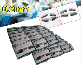 Wholesale Extensions Lashes - Magnetic Eye Lashes 3D Mink Reusable False Magnet Eyelashes Extension 3d eyelash extensions magnetic eyelashes makeup
