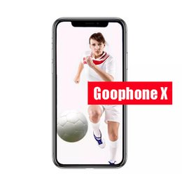 Wholesale Android 2g Ram - Dhl Shipping 5.5inch Goophone ix goophone x face recognition glass cover 4g lte Octa Core Wireless Charging 2G Ram 16G Rom Show 256Gb