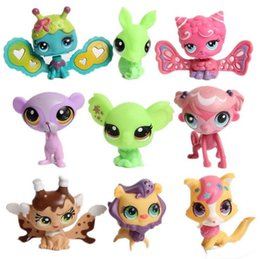 Wholesale Lps Animals - Little Pet Shop 4-6cm LPS Toys Animal Cartoon Cat Dog Action Figures Collection toys for kids mixed styles